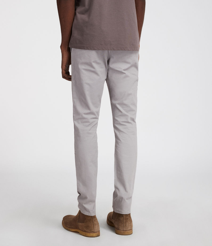 Mens Park Chino (smoke_blue) - Image 5
