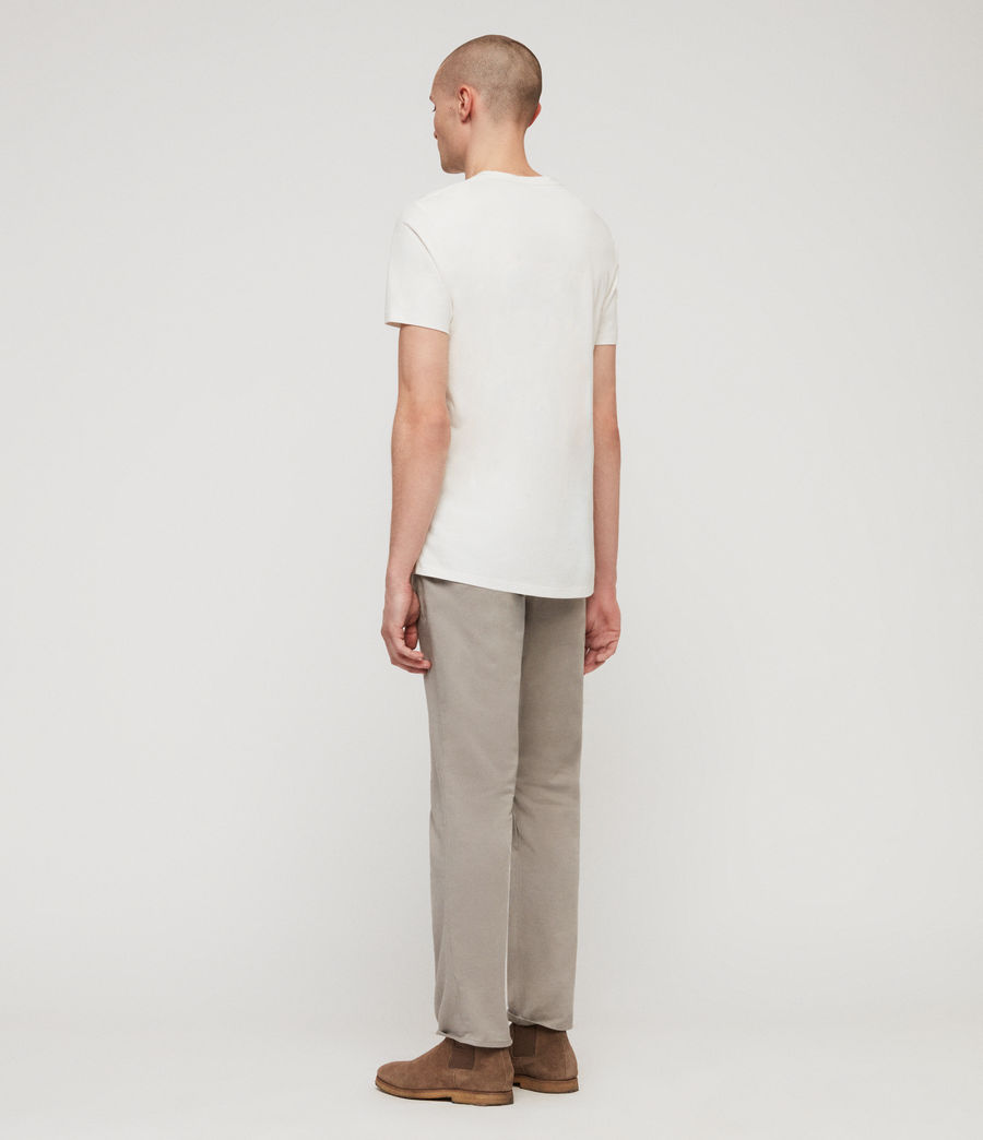 Mens Park Skinny Chinos (dove_grey) - Image 5