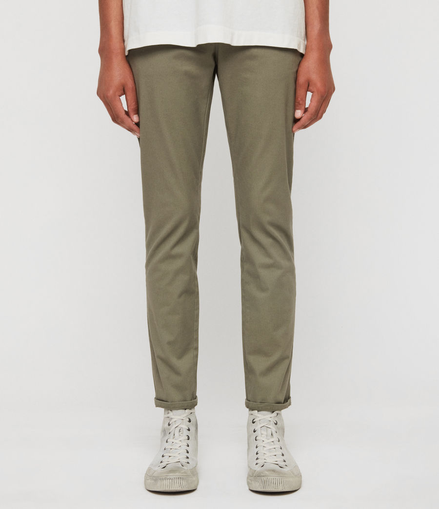 Men's Park Skinny Chinos (dove_grey) - Image 1