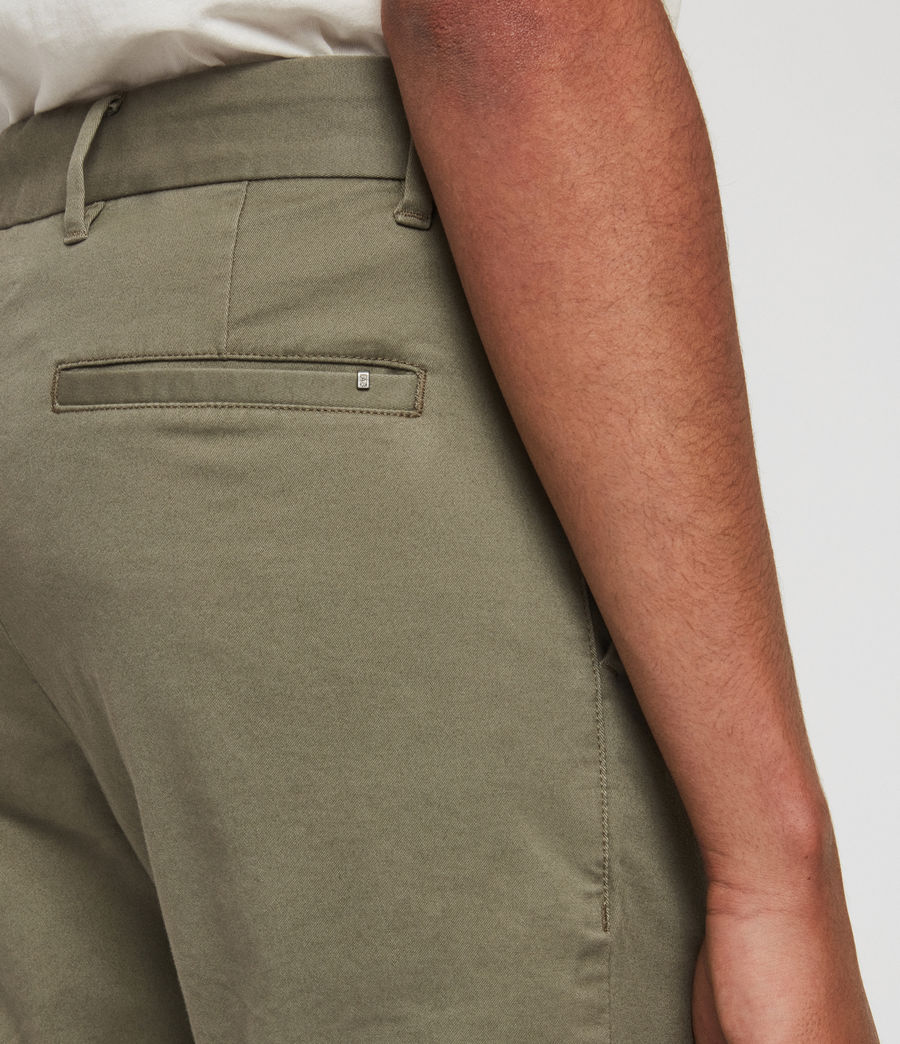 Men's Park Skinny Chinos (dove_grey) - Image 5