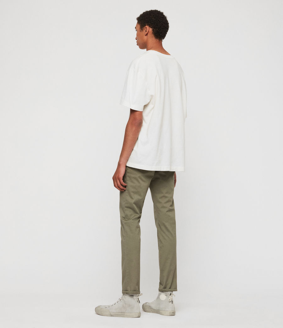 Men's Park Skinny Chinos (dove_grey) - Image 6