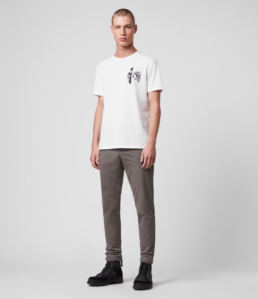 Men's Park Skinny Chinos (tile_grey) - Image 1