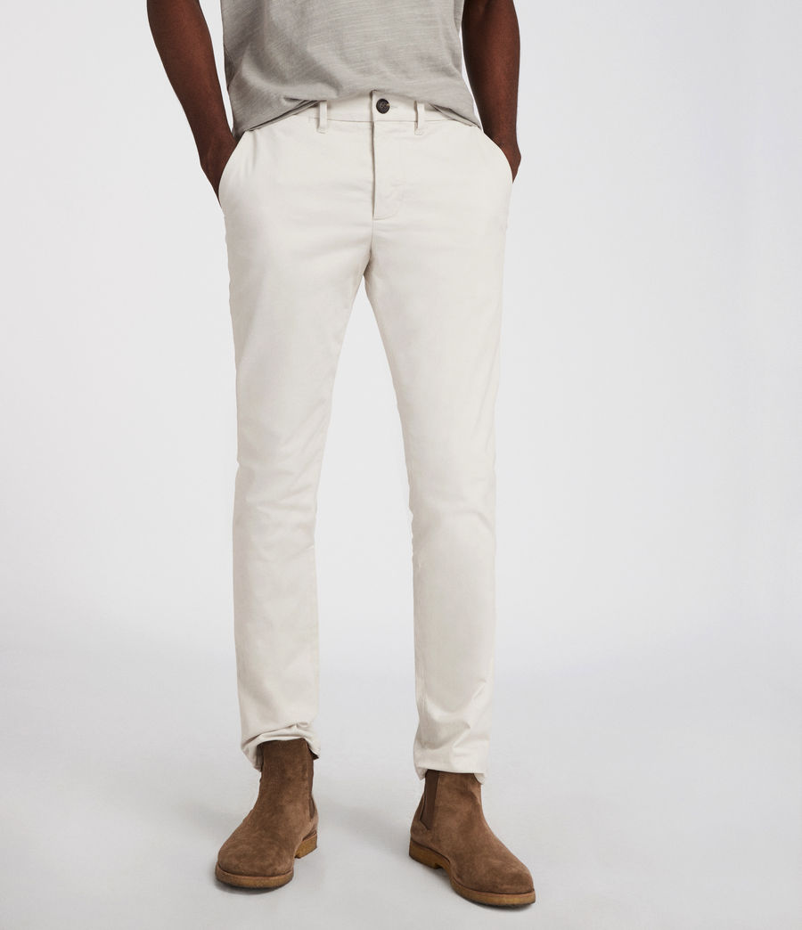 Men's Park Skinny Chinos (ink_navy) - Image 1