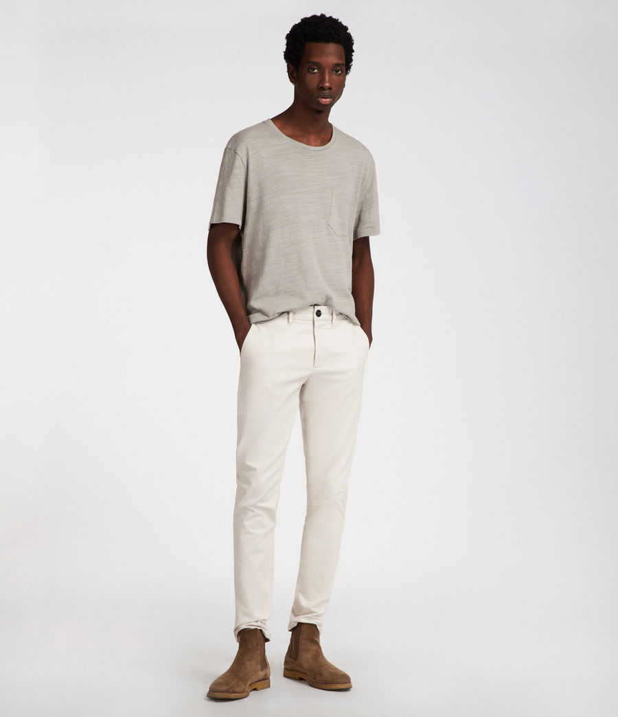 Men's Park Skinny Chinos (ink_navy) - Image 3
