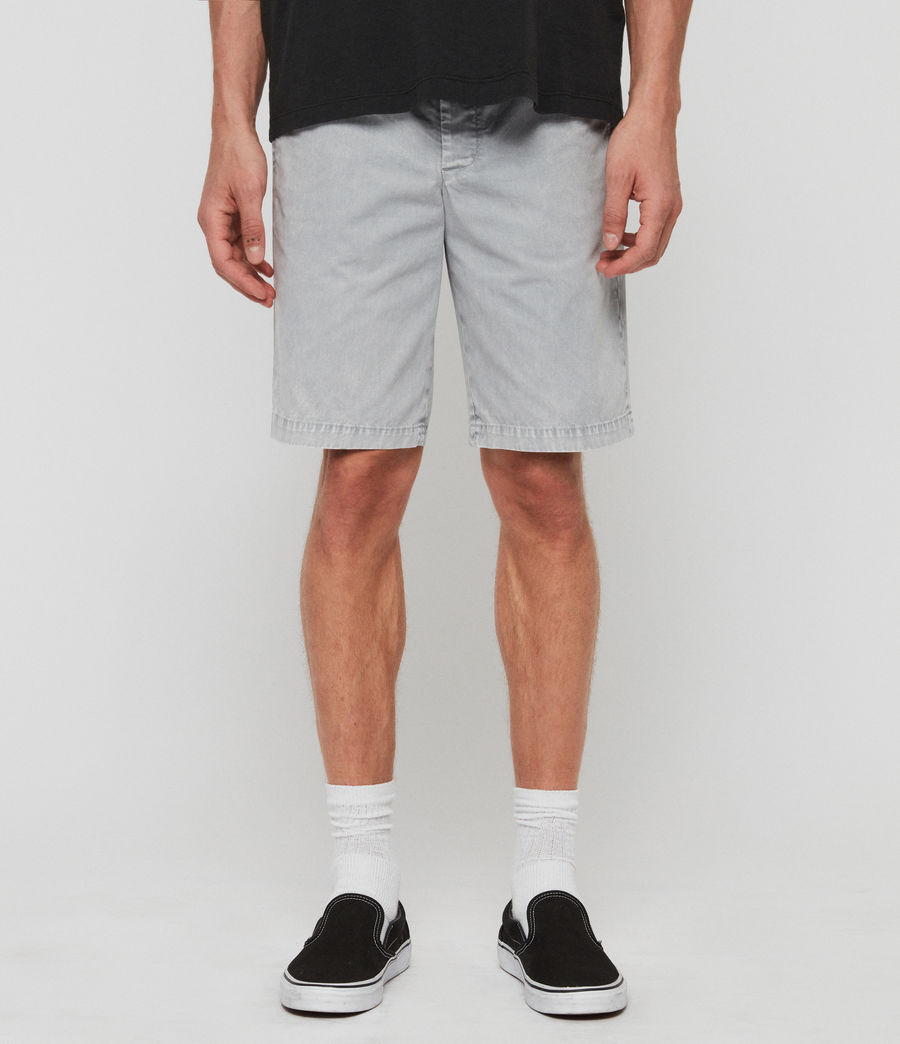 Hommes Short Bowfell Twill (space_blue) - Image 1