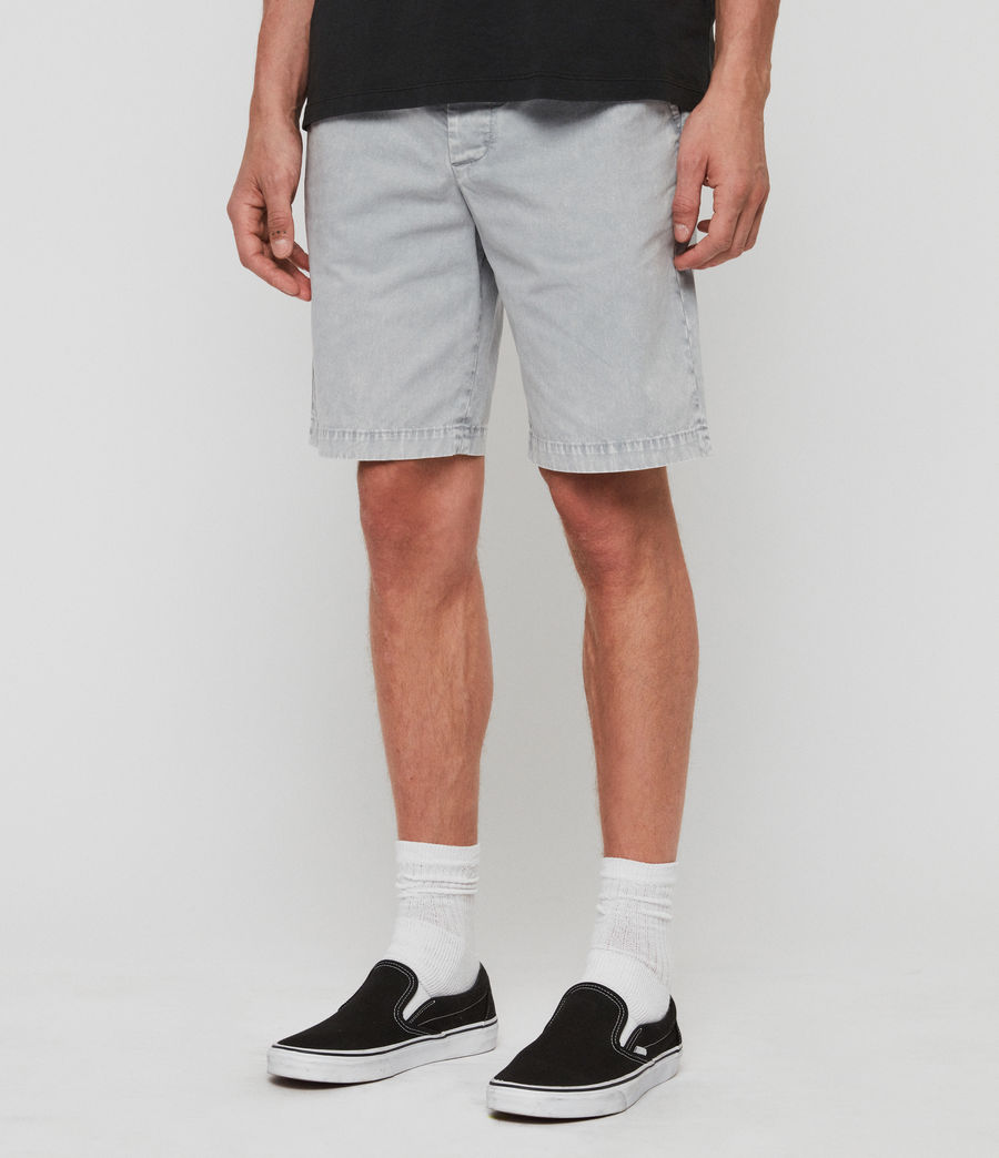 Hommes Short Bowfell Twill (space_blue) - Image 2