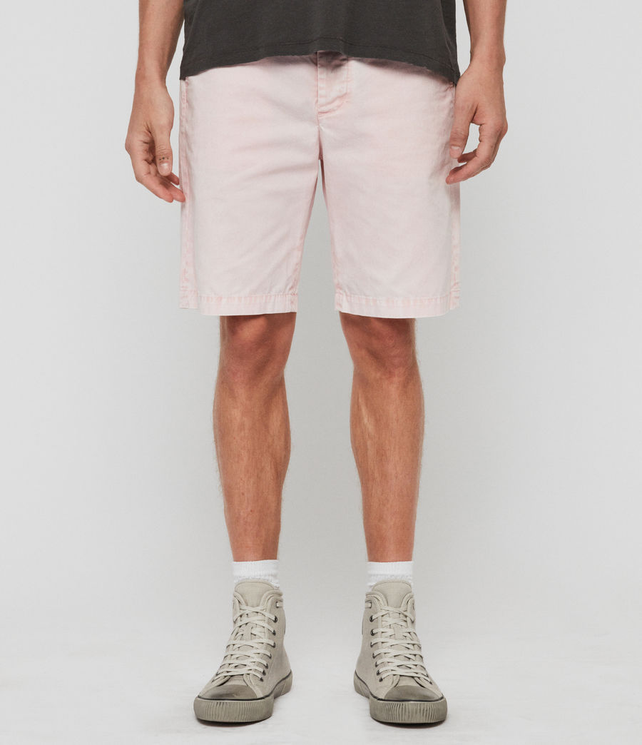 Men's Bowfell Twill Shorts (bleach_pink) - Image 1