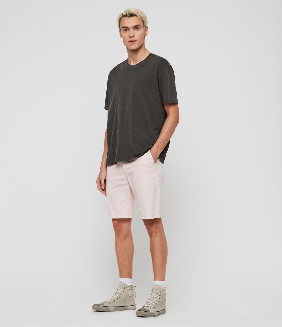 Men's Bowfell Twill Shorts (bleach_pink) - Image 3