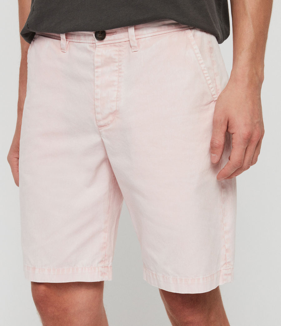 Men's Bowfell Twill Shorts (bleach_pink) - Image 4