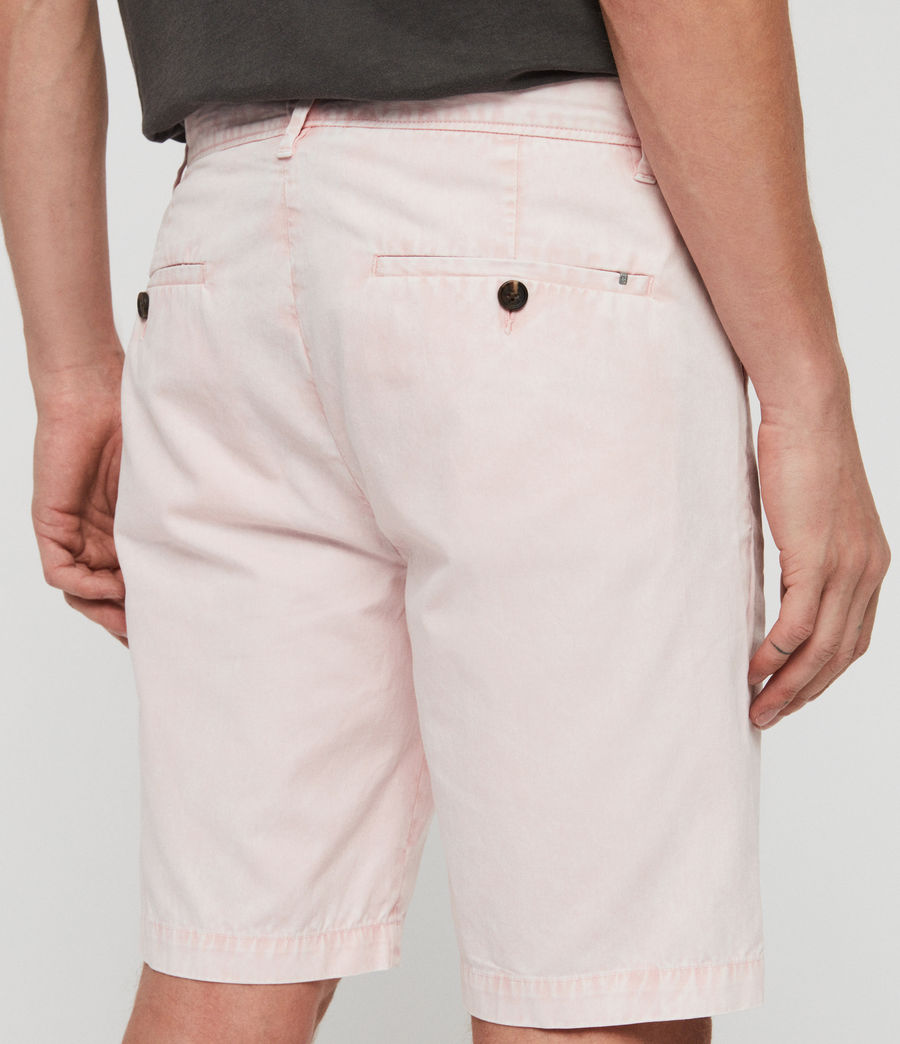 Men's Bowfell Twill Shorts (bleach_pink) - Image 5