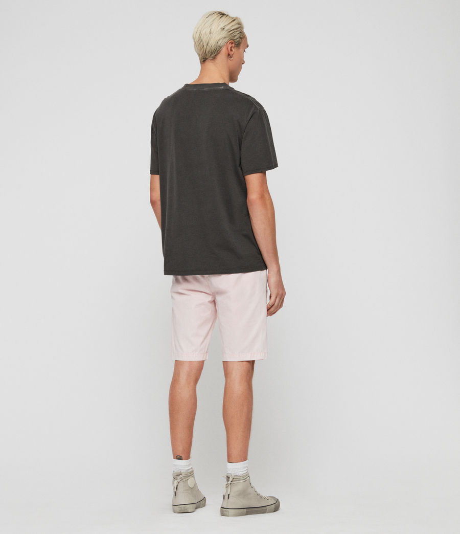 Men's Bowfell Twill Shorts (bleach_pink) - Image 6