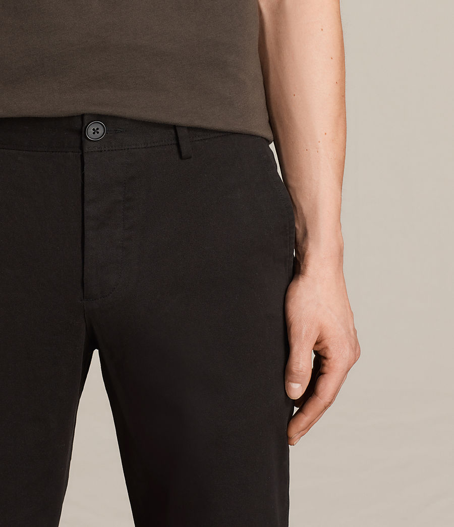 Mens Pacific Chino (black) - Image 2