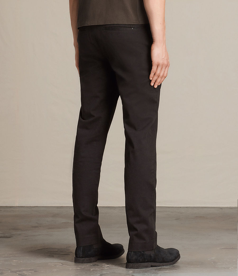 Mens Pacific Chino (black) - Image 4