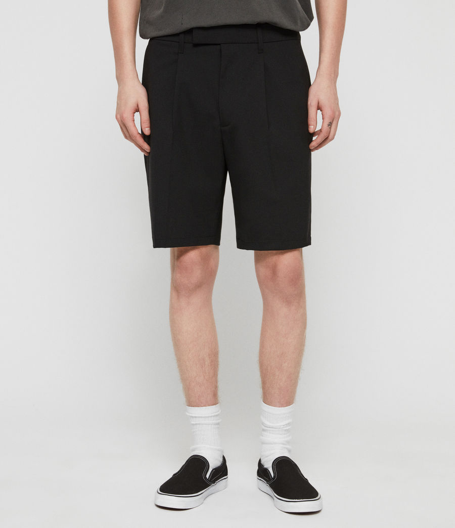 Mens Whyte Tailored Shorts (jet_black) - Image 1