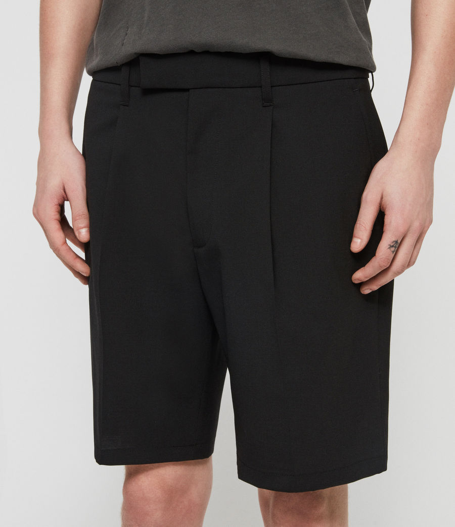 Mens Whyte Tailored Shorts (jet_black) - Image 2