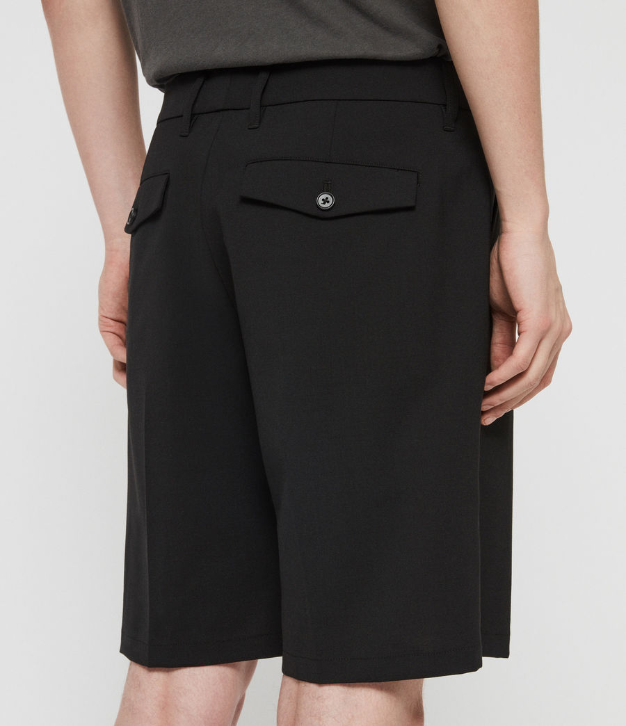 Mens Whyte Tailored Shorts (jet_black) - Image 4