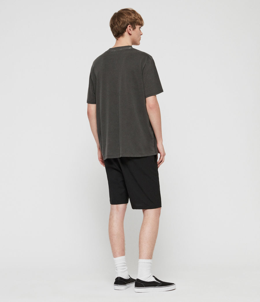 Mens Whyte Tailored Shorts (jet_black) - Image 6