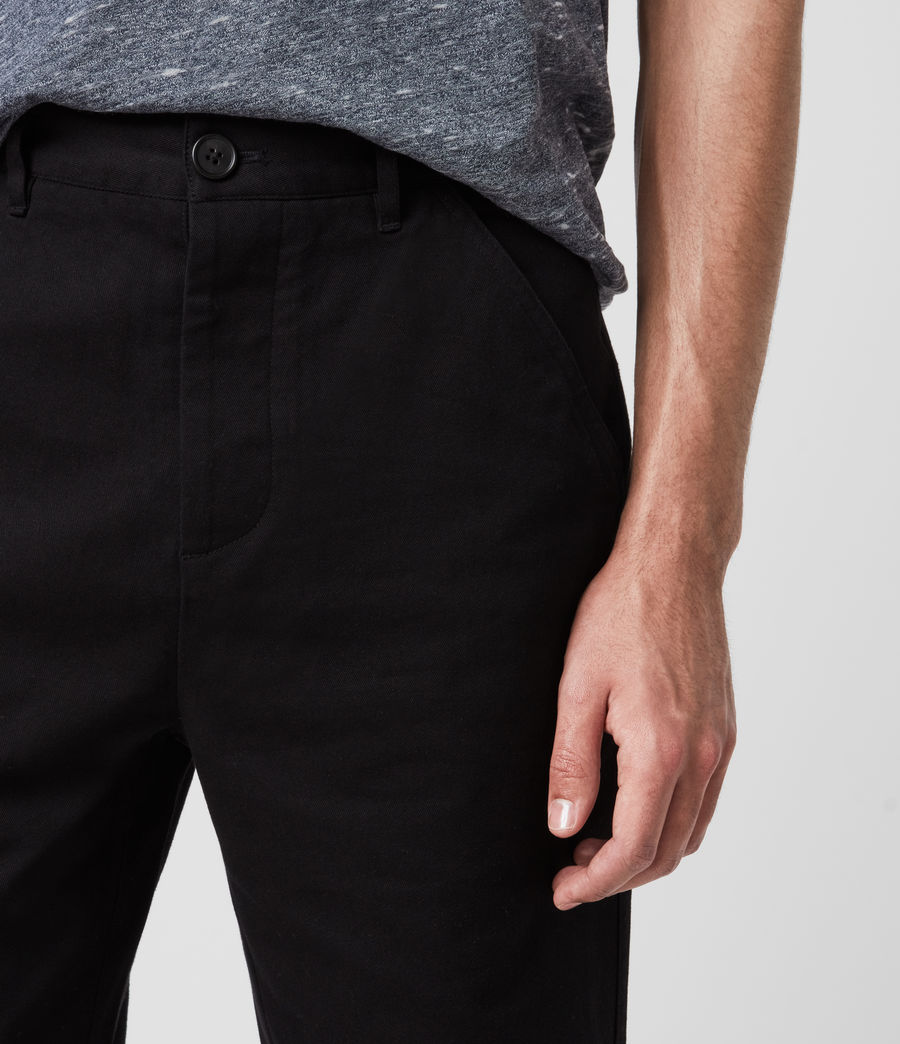Uomo Fenner Chino Shorts (black) - Image 2