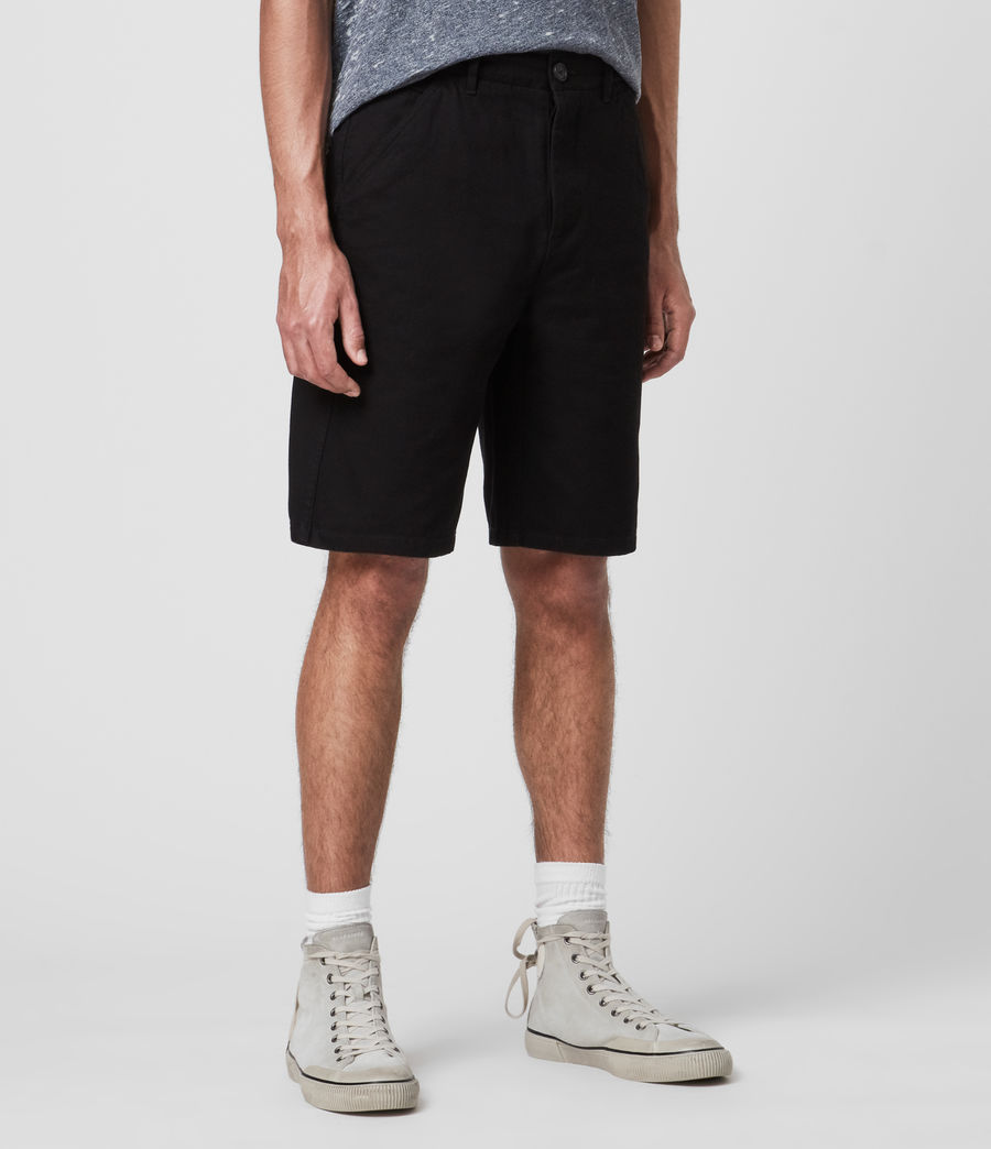 Uomo Fenner Chino Shorts (black) - Image 4