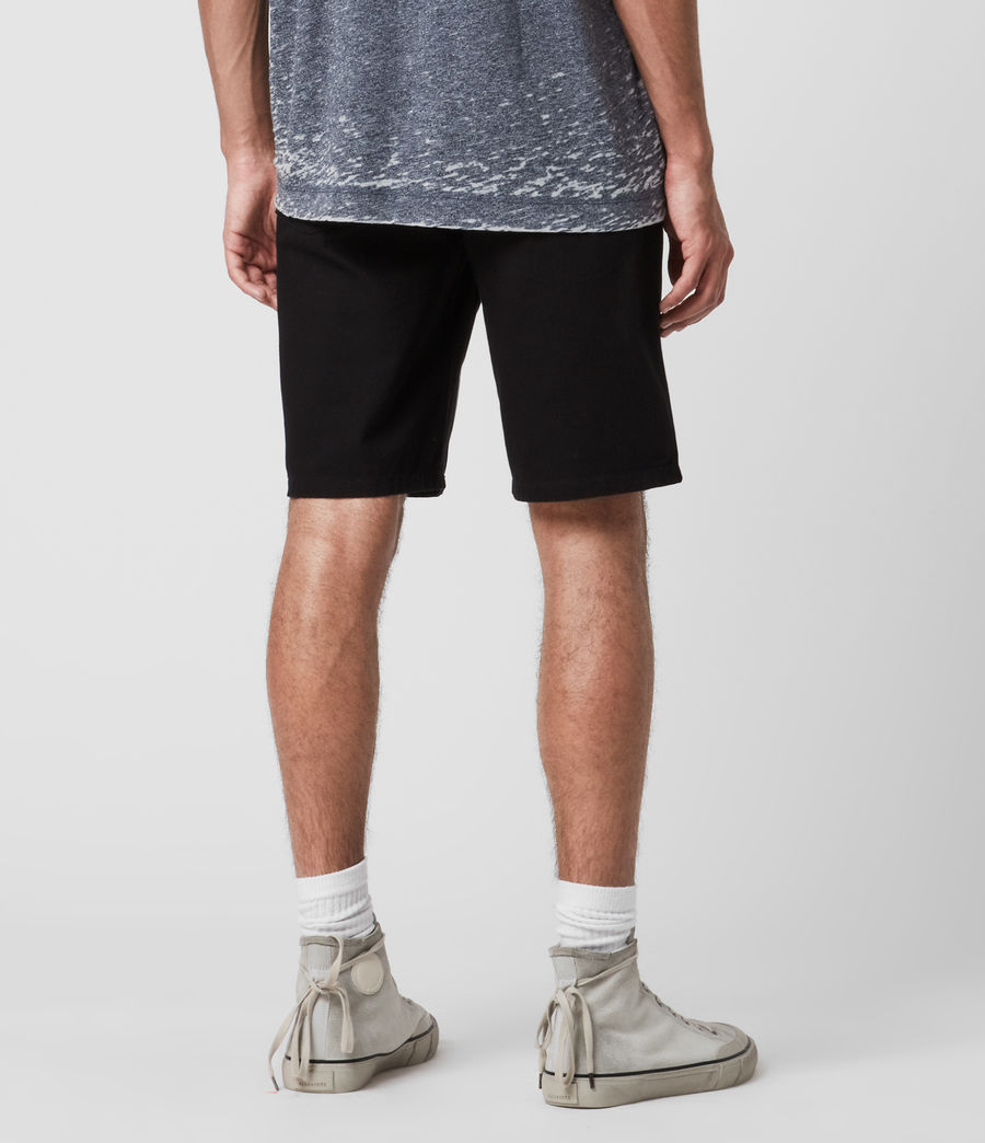 Uomo Fenner Chino Shorts (black) - Image 6