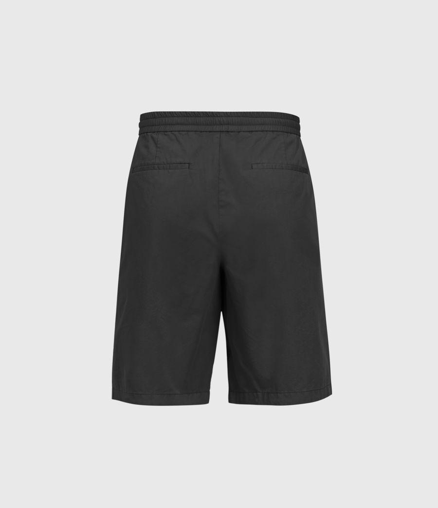 Uomo Adra Linen Blend Shorts (washed_black) - Image 2