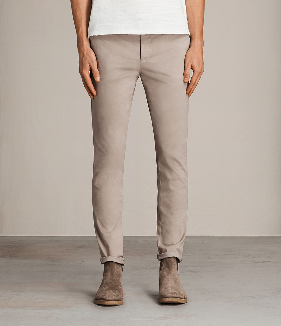Hombres Pantalones chinos Tyson (sand) - Image 1