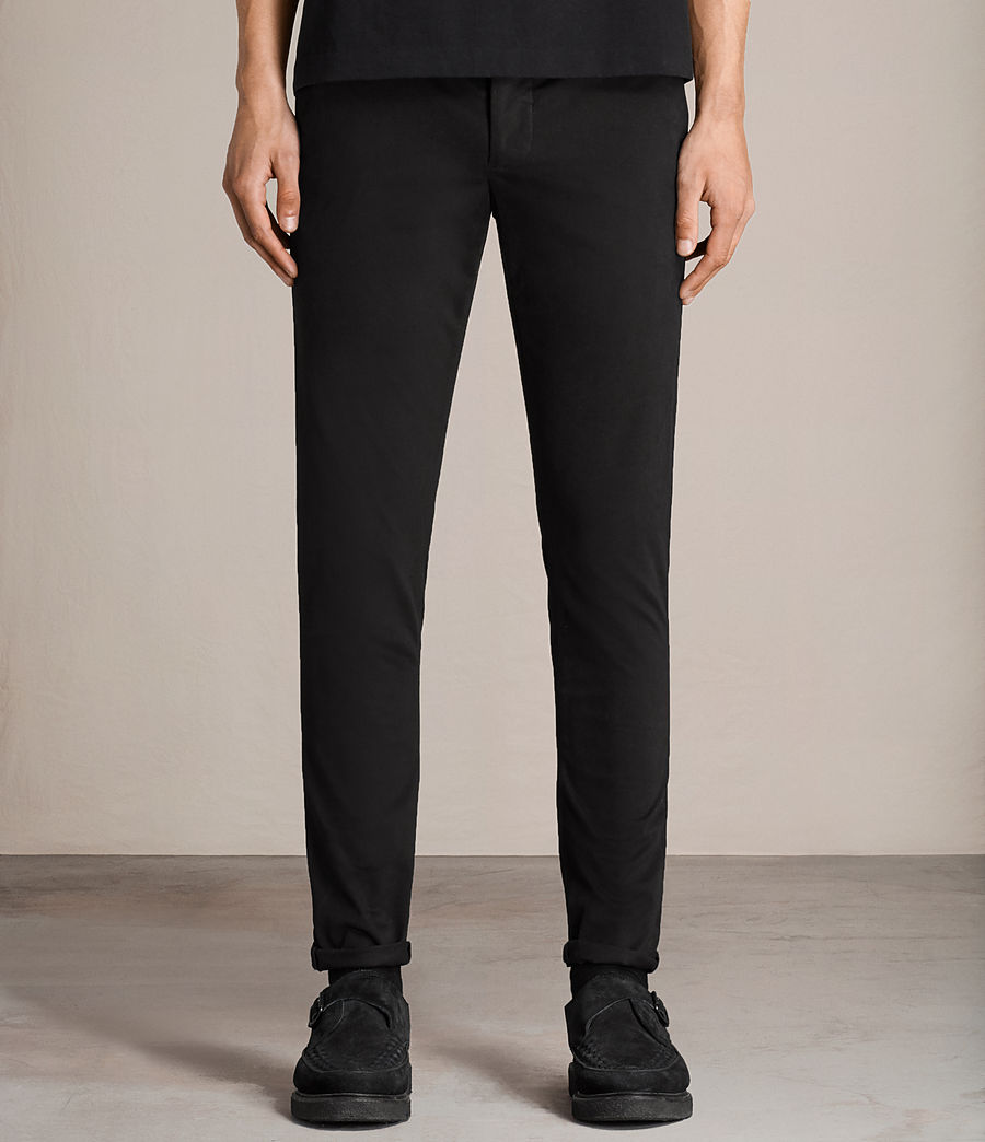 Men's Tyson Chino (black) - Image 1