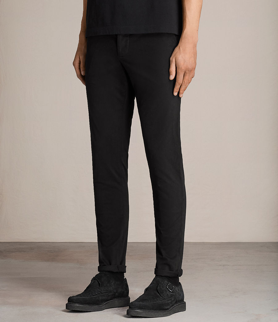 Men's Tyson Chino (black) - Image 3