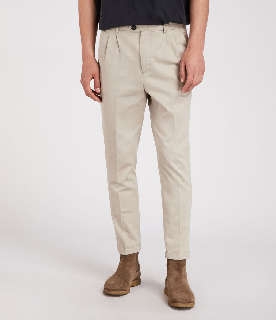 Men's Salco Chino (oat_grey) - Image 1