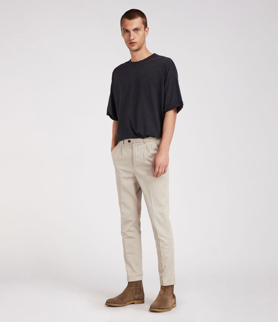 Mens Salco Chino (oat_grey) - Image 2