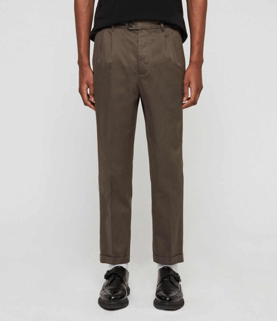 Men's Salco Chinos (dust_khaki_green) - Image 1