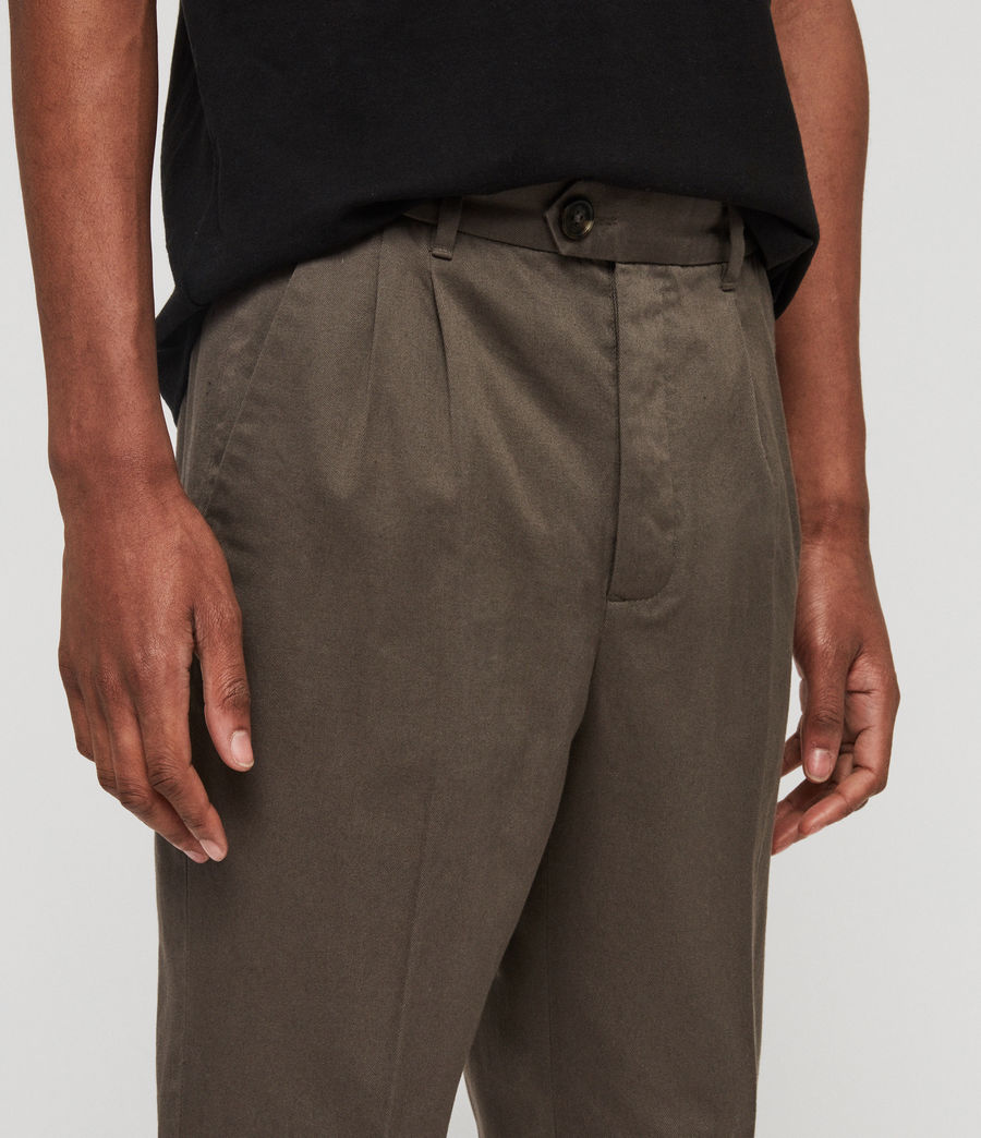 Men's Salco Chinos (dust_khaki_green) - Image 2