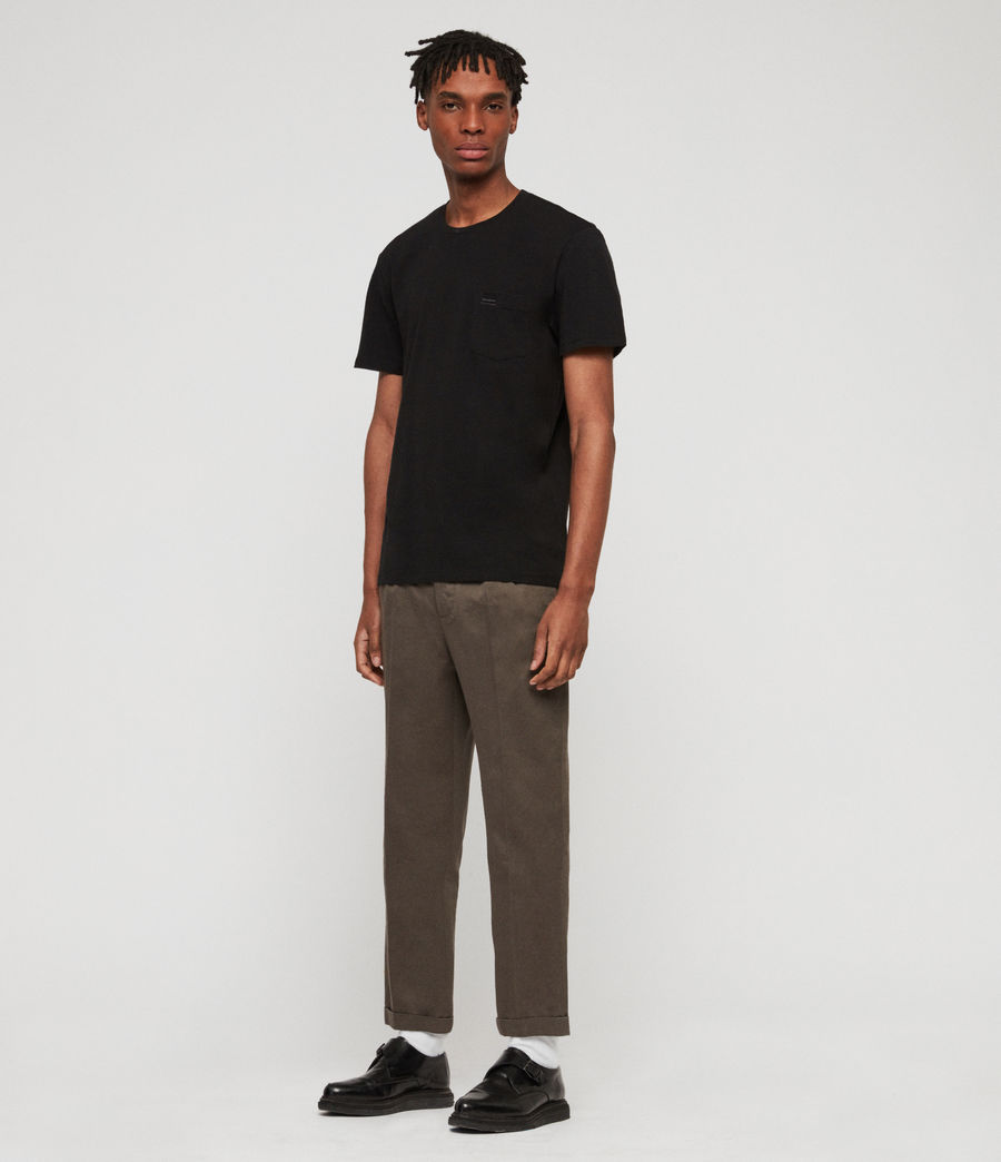 Men's Salco Chinos (dust_khaki_green) - Image 3