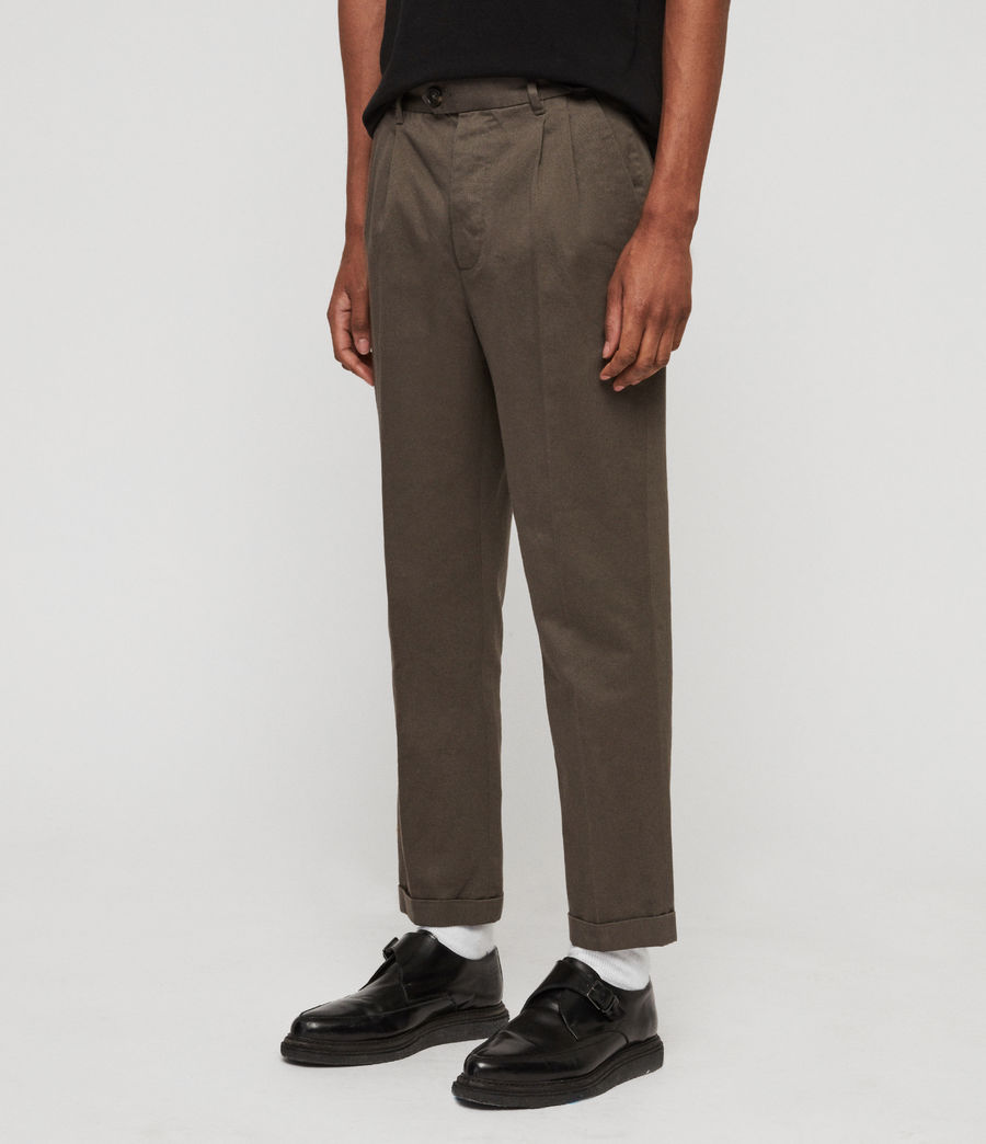 Men's Salco Chinos (dust_khaki_green) - Image 4
