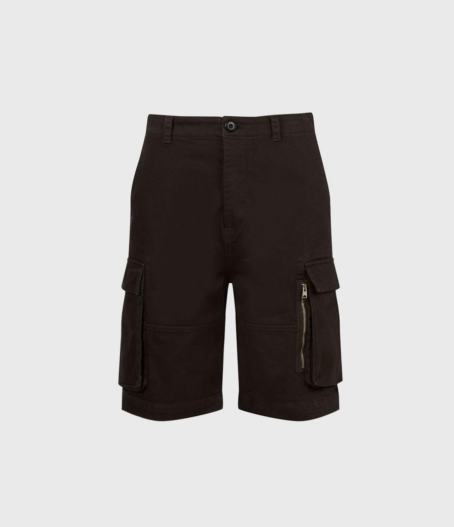 Hommes Short Velwell (washed_black) - Image 2