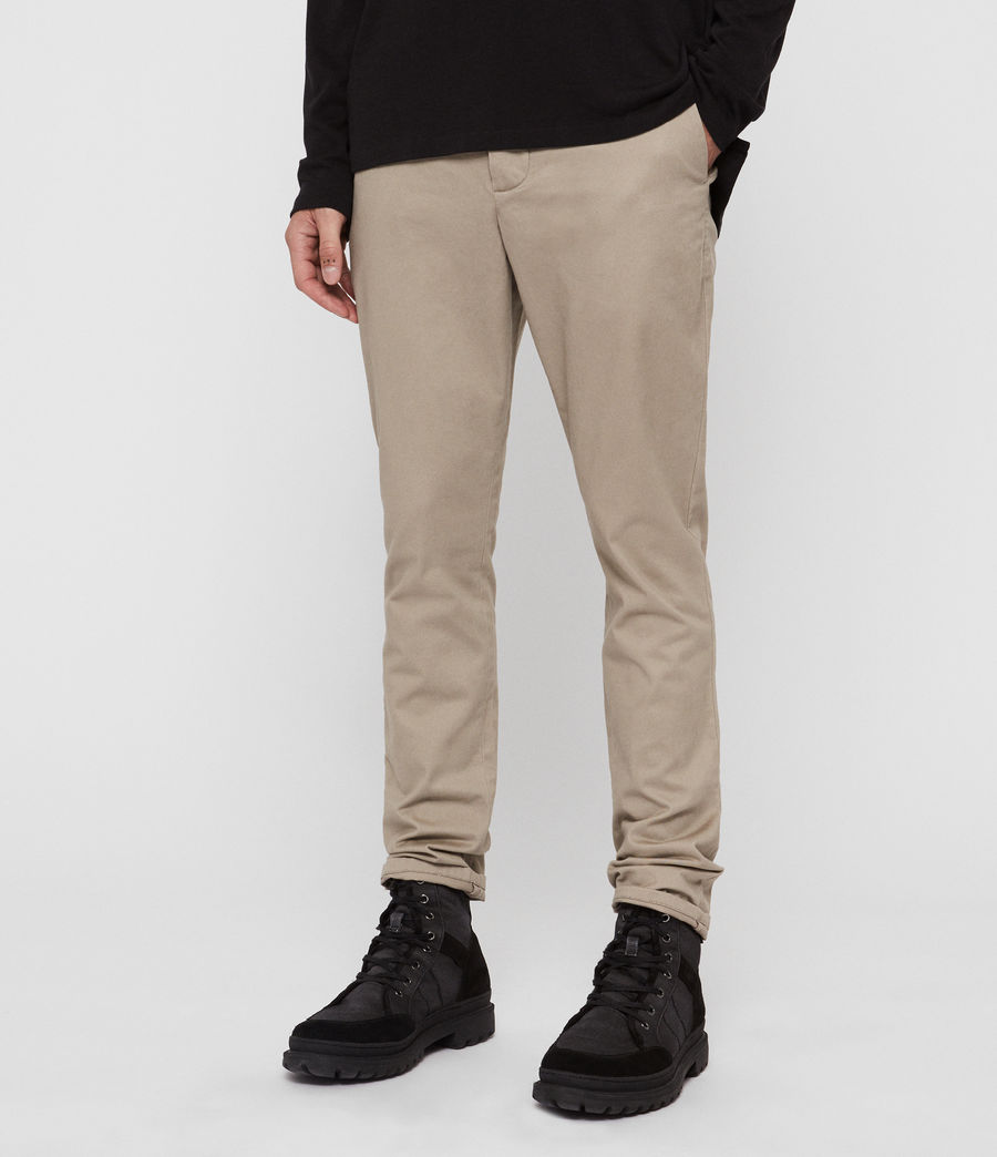 Men's Felix Slim Chinos (khaki_brown) - Image 3