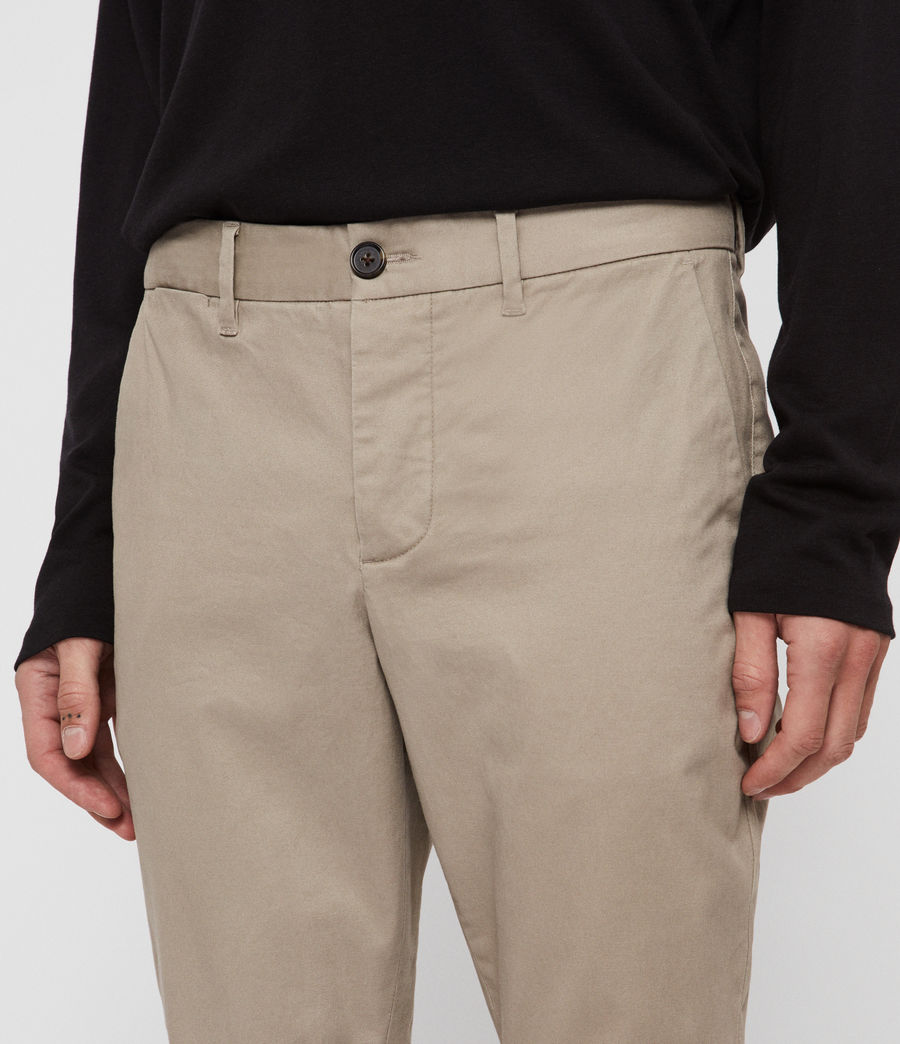 Men's Felix Slim Chinos (khaki_brown) - Image 4
