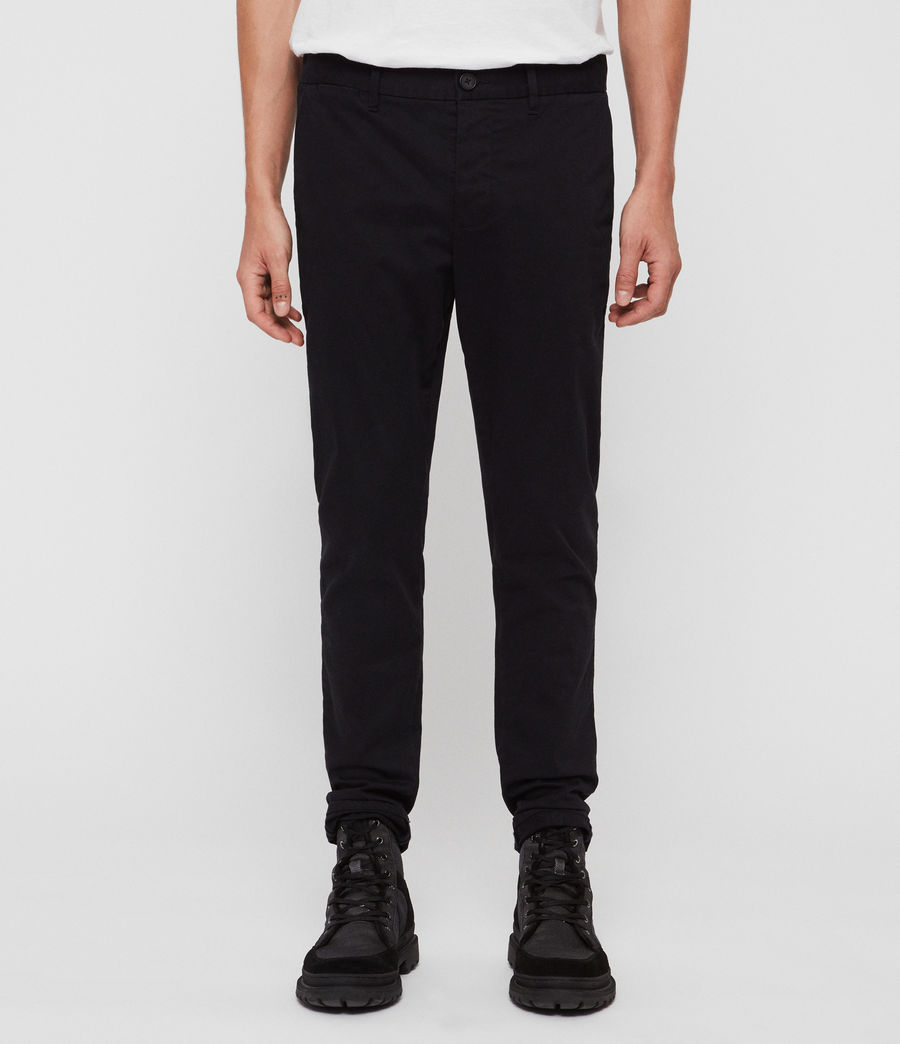 Uomo Chino Felix - Slim in cotone (ink_navy) - Image 1