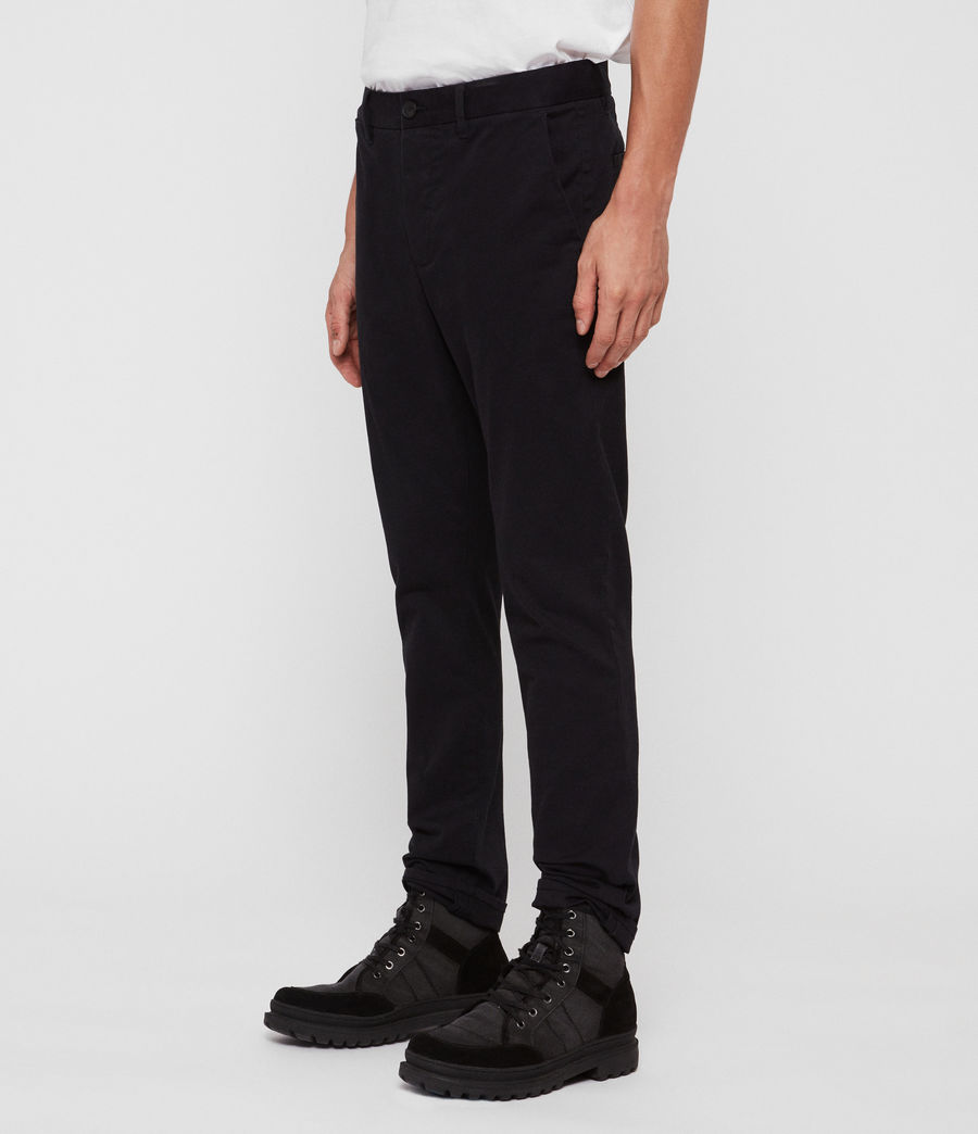 Uomo Chino Felix - Slim in cotone (ink_navy) - Image 3