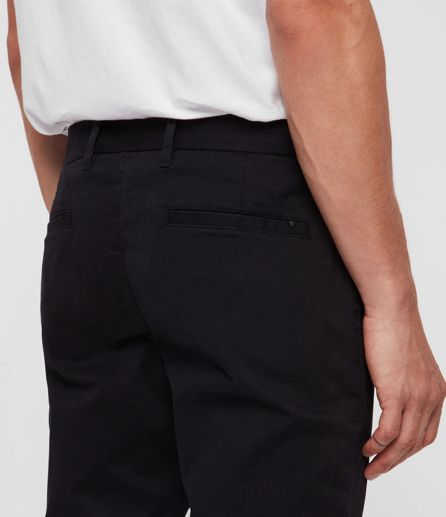 Mens Felix Slim Chinos (ink_navy) - Image 5