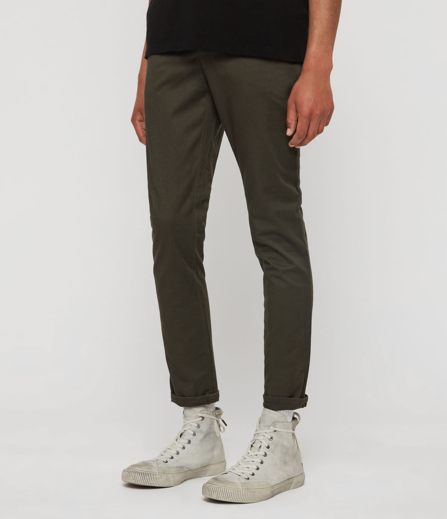Men's Felix Slim Chinos (granite_blue) - Image 4