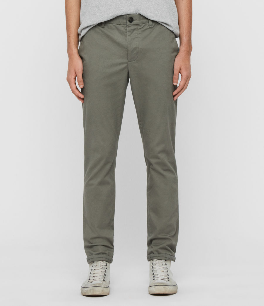 Hommes Chino Slim Felix (pebble_grey) - Image 1