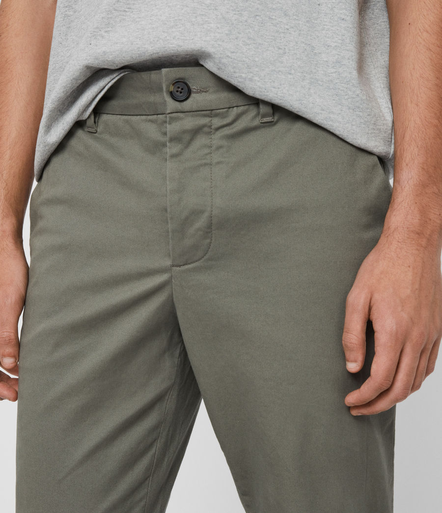 Mens Felix Slim Chinos (pebble_grey) - Image 1