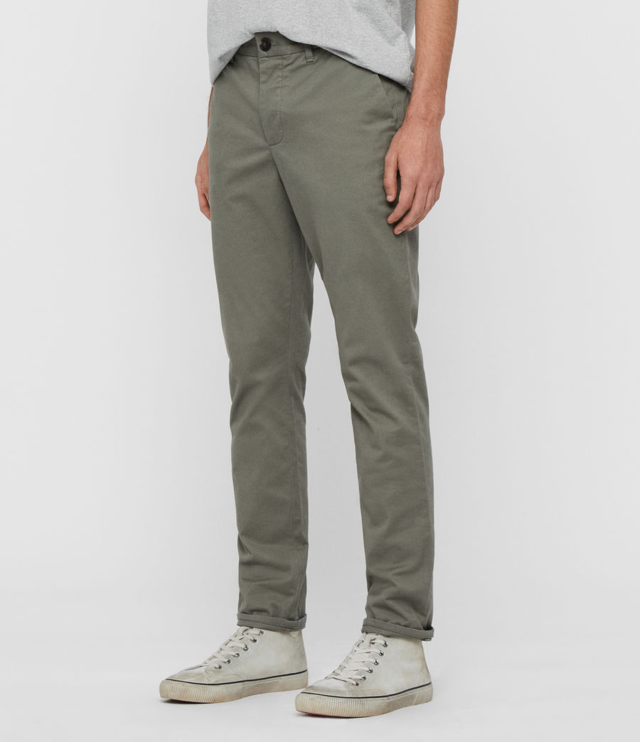 Hommes Chino Slim Felix (pebble_grey) - Image 4
