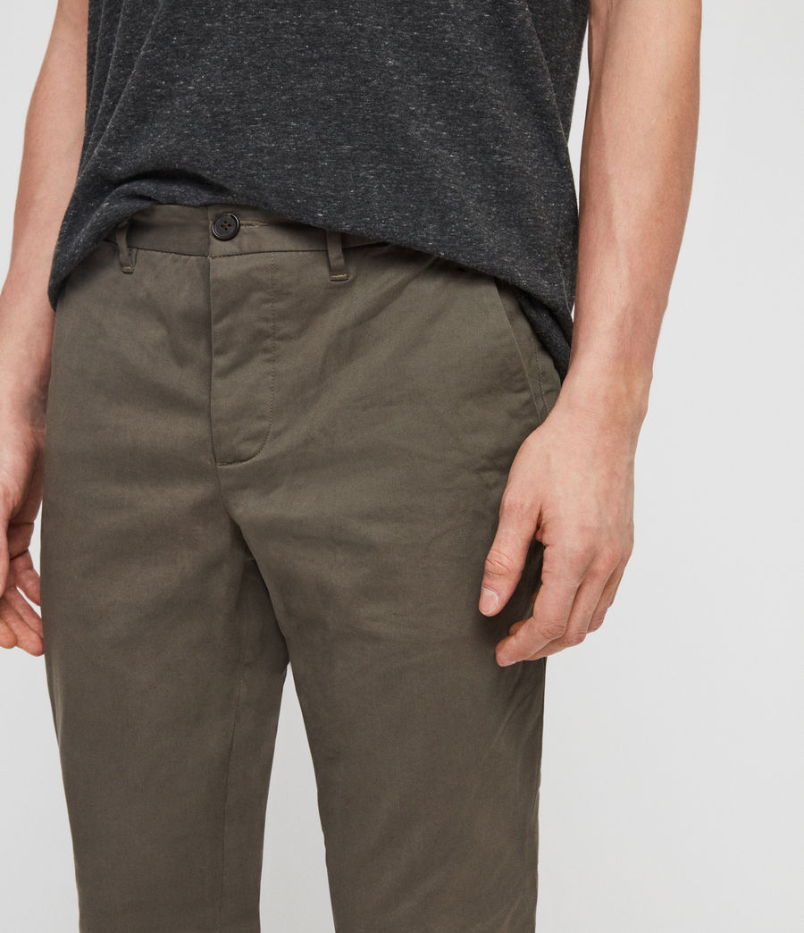 Men's Felix Chinos (dusty_khaki_green) - Image 2