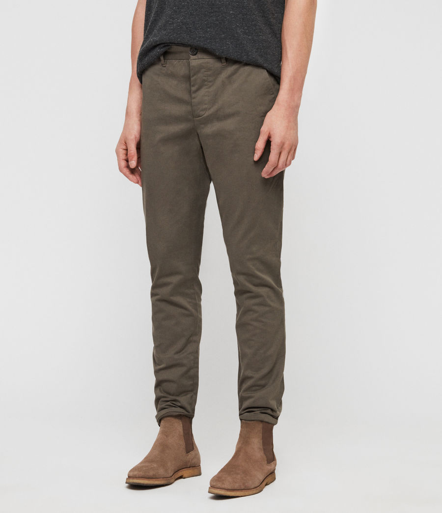 Men's Felix Chinos (dusty_khaki_green) - Image 4