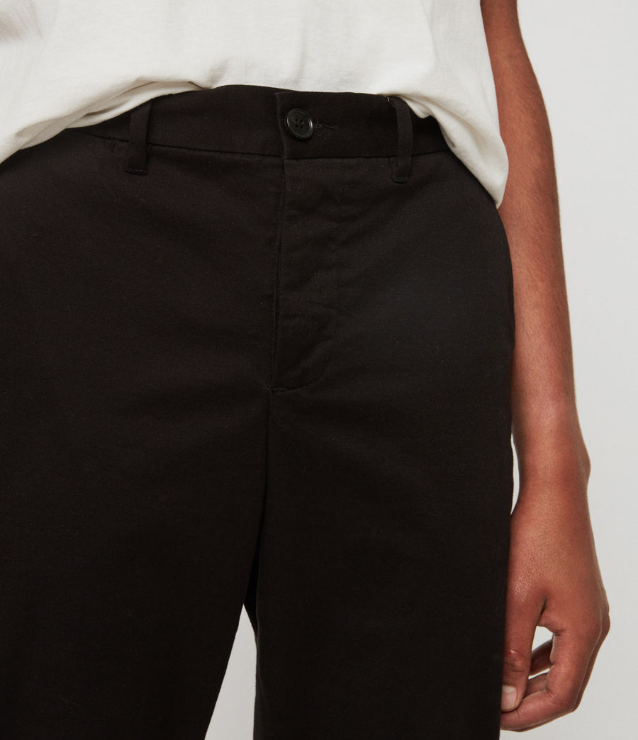 Men's Felix Slim Chinos (black) - Image 4