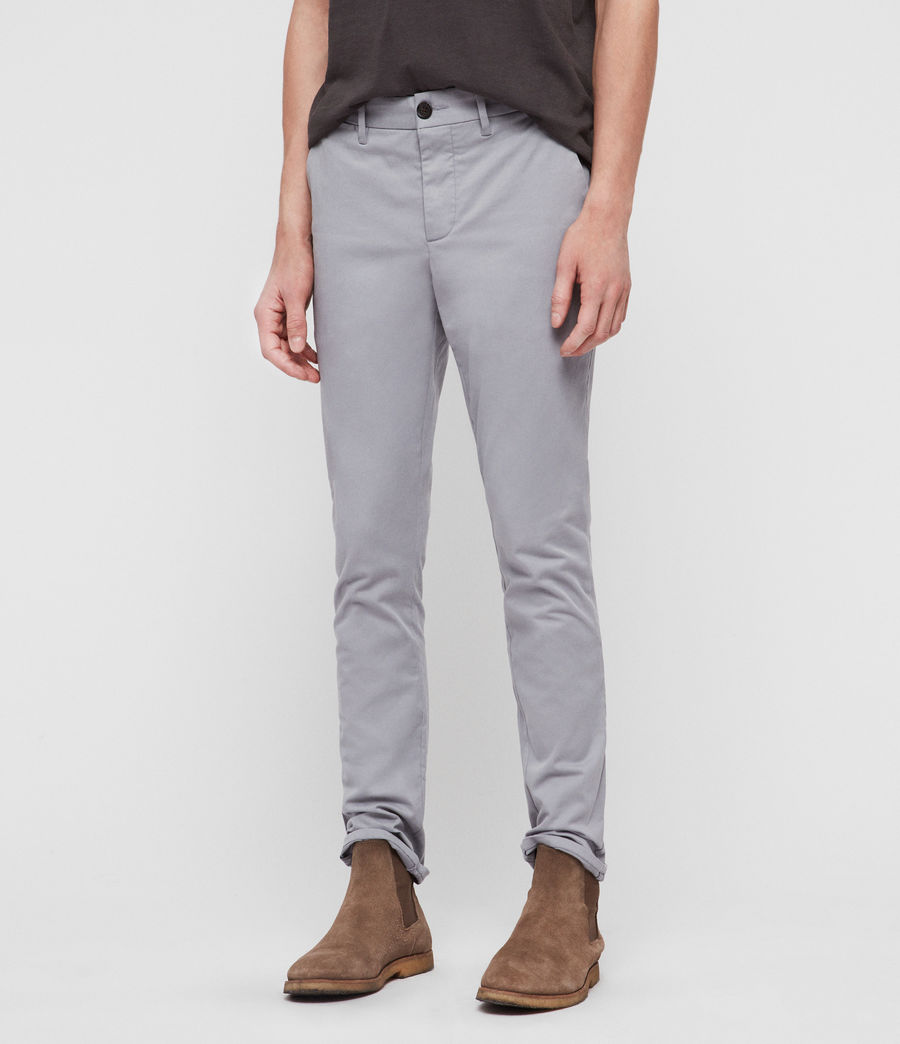 Mens Felix Slim Chinos (space_blue) - Image 1