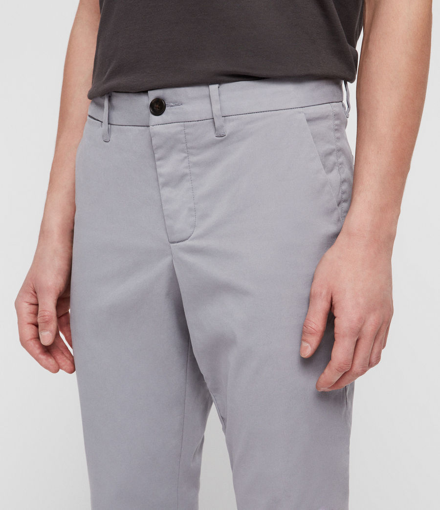 Mens Felix Slim Chinos (space_blue) - Image 2