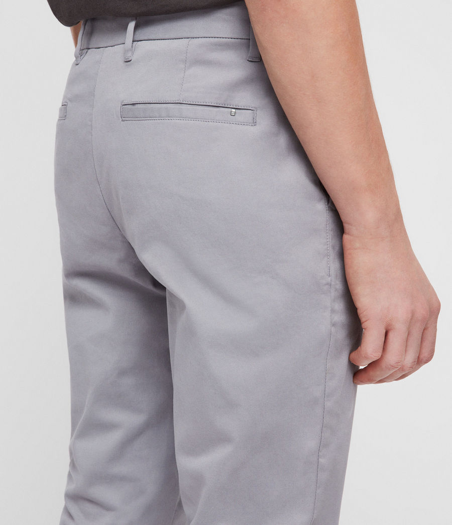 Mens Felix Slim Chinos (space_blue) - Image 4